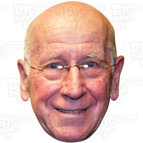 BOBBY CHARLTON : A3 Size Face Mask