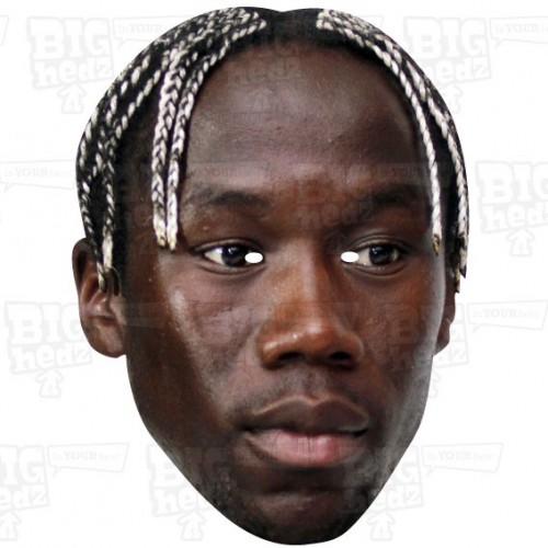 Bacary Sagna: BIG A3 Size Celebrity Face Mask