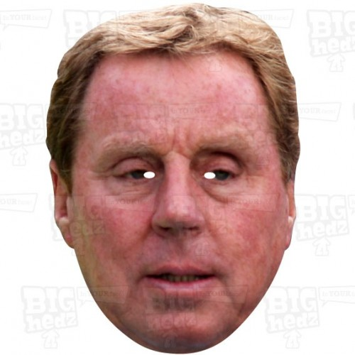 HARRY REDKNAPP : A3 Size Face Mask