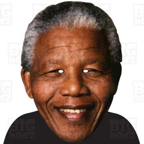 NELSON MANDELA : A3 Size