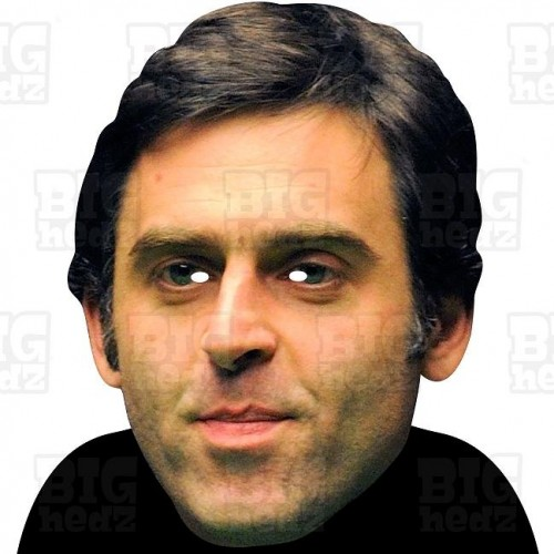 RONNIE O'SULLIVAN : BIG A3 Size Face Mask