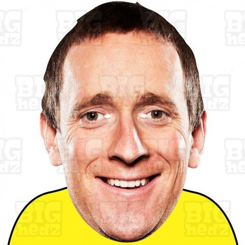 Sir BRADLEY WIGGINS : BIG A3 Size Face Mask