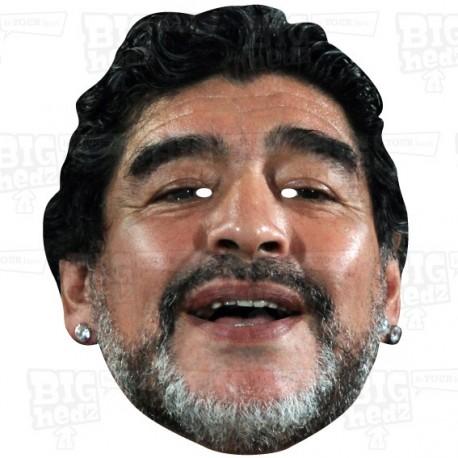Diego Maradona Celebrity Face Mask by BIGhedz