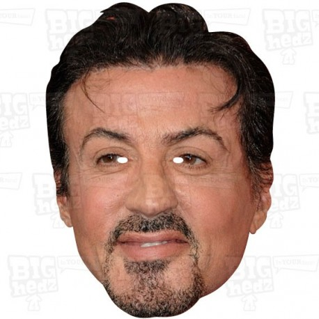 SYLVESTER STALLONE : Life-size Celebrity Face Mask from BIGhedz!