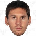 LIONEL MESSI : Life-size Celebrity Face Mask by BIGhedz