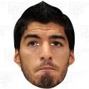 LUIS SUAREZ : Life-size Celebrity Face Mask by BIGhedz
