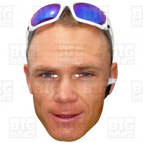 CHRIS FROOME : Life-size Face Mask