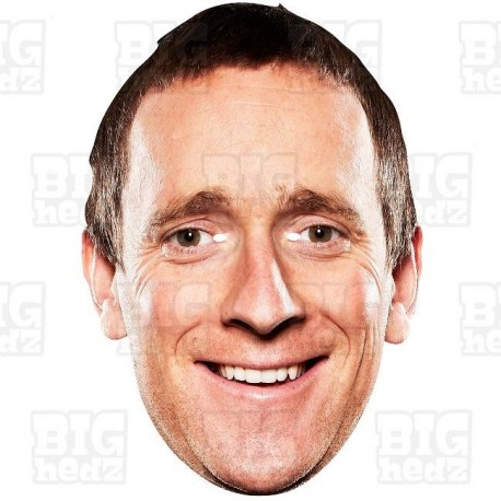 Sir BRADLEY WIGGINS : Life-size Face Mask