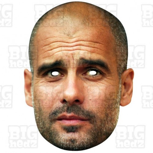 PEP GUARDIOLA : Life-size Face Mask