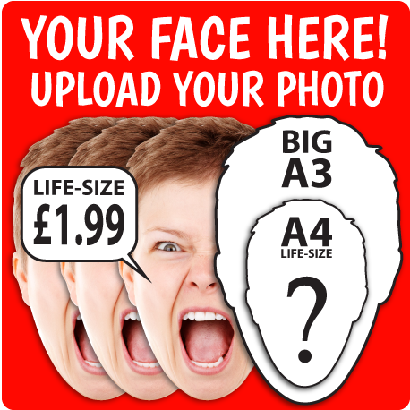 Life-size Personalised Masks