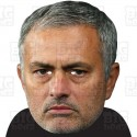 JOSE MOURINHO : BIG A3 Size Card Face Mask