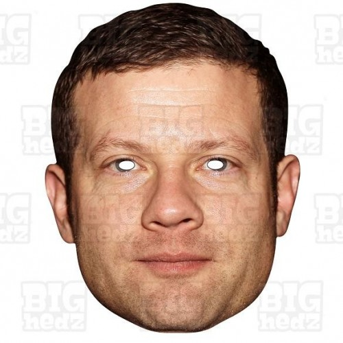 DERMOT O'LEARY : Life-size Face Mask