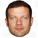 DERMOT O'LEARY : Life-size Card Face Mask x-factor host