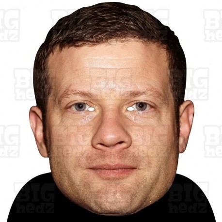 DERMOT O'LEARY : BIG A3 Size Card Face Mask x-factor