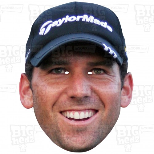 SERGIO GARCIA : Life-size Card Face Mask - European Ryder Cup Team