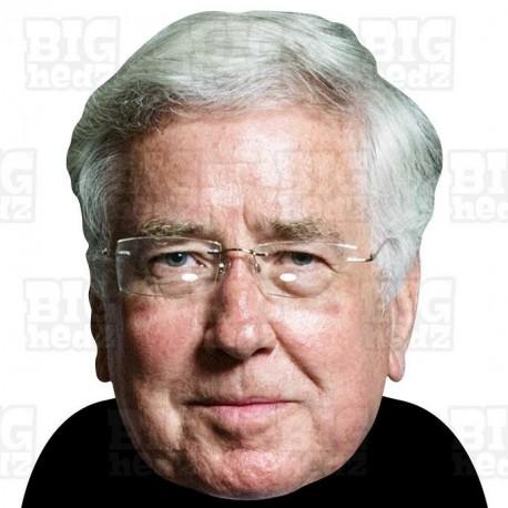 Sir Michael Fallon : BIG A3 Size Card Face Mask