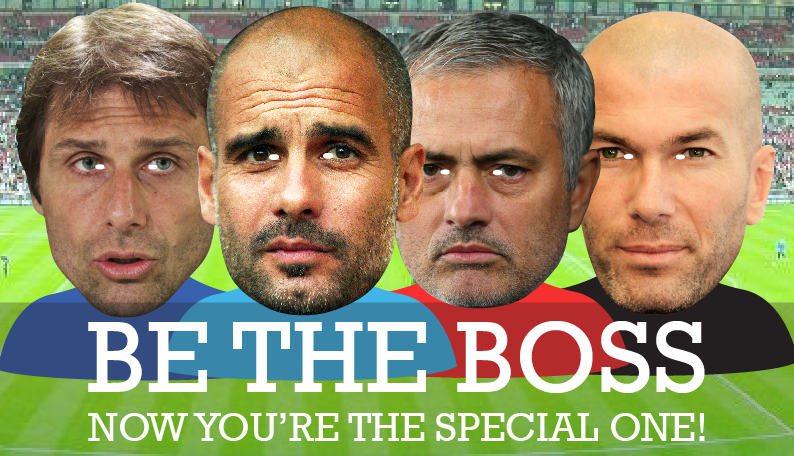 BE THE BOSS - Now you're the Special One!