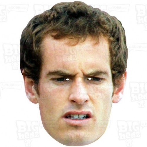 ANDY MURRAY : BIG A3 Face Mask