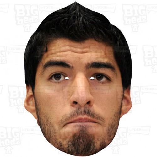 LUIS SUAREZ : A3 Size Face Mask