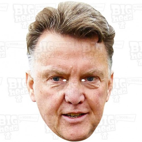 LOUIS VAN GAAL : BIG A3 Size card face mask