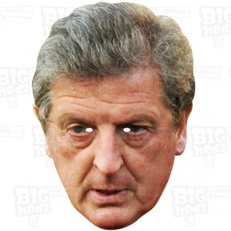 ROY HODGSON : BIG A3 Size card face mask