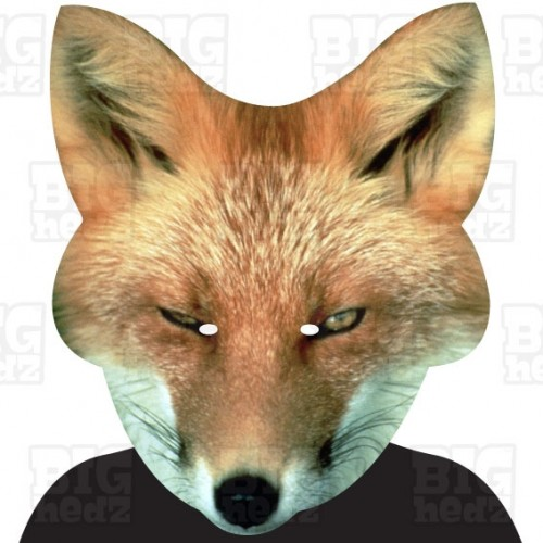 FOX : A3 Size Face Mask