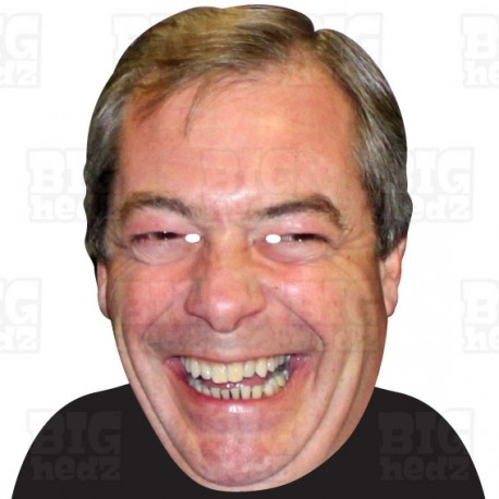 NIGEL FARAGE : A3 Size