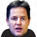 NICK CLEGG : A3 Size