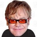 ELTON JOHN : A3 Size Face Mask