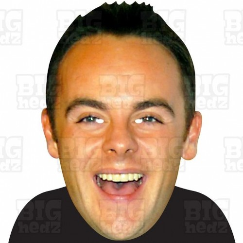 ANT McPARTLIN : BIG A3 Size Card Face Mask