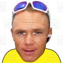 CHRIS FROOME : BIG A3 Size Face Mask by BIGhedz