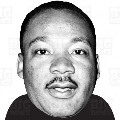 MARTIN LUTHER KING : A3 Size Face Mask