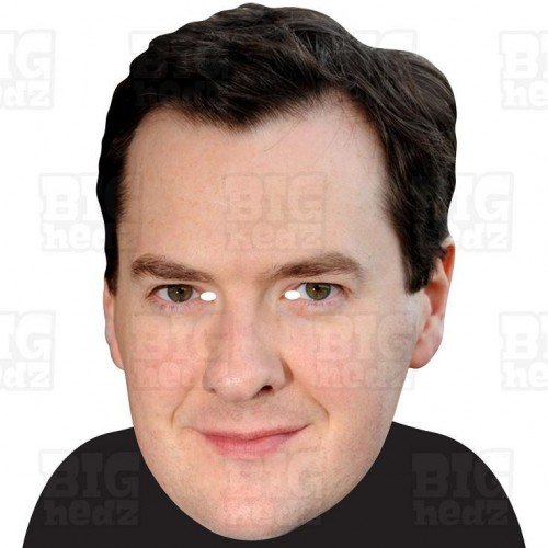 GEORGE OSBORNE : A3 Size Face Mask