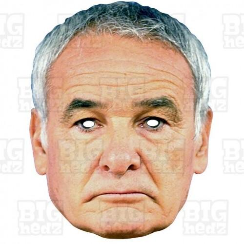CLAUDIO RANIERI : Life-size Face Mask