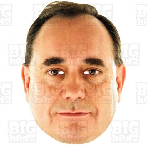 ALEX SALMOND : Life-size Face Mask