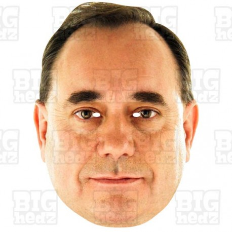 Alex Salmond: Life-size Celebrity Face Mask - BIGhedz