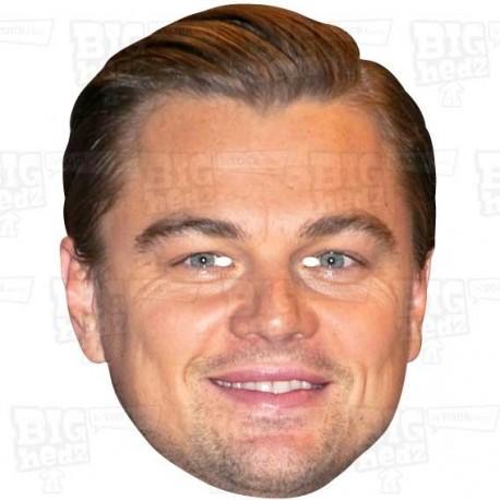 LEONARDO DiCAPRIO : Life-size Celebrity Face Mask