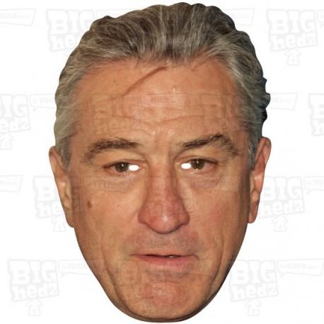 ROBERT De NIRO : Life-size Face Mask
