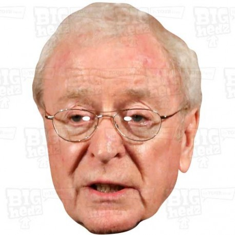 MICHAEL CAINE : Life-size Celebrity Face Mask