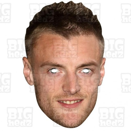 JAMIE VARDY : Life-size Face Mask