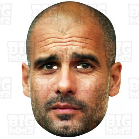 PEP GUARDIOLA : A3 Size Celebrity Face Mask