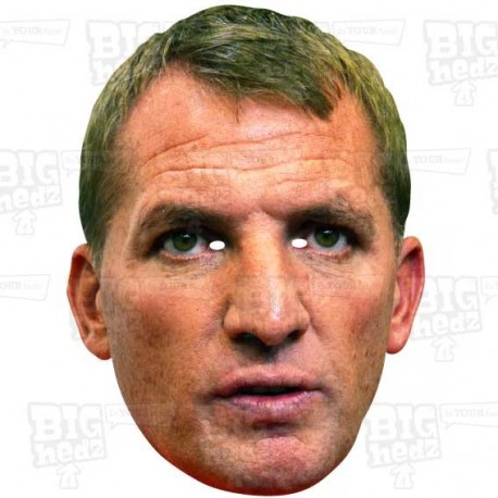 BRENDAN RODGERS : Life-size Face Mask
