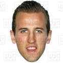 HARRY KANE : BIG A3 Size Celebrity Card Face Mask