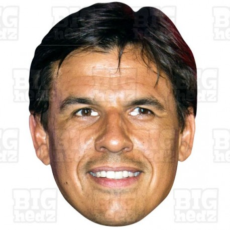 CHRIS COLEMAN : Life-size Celebrity Face Mask