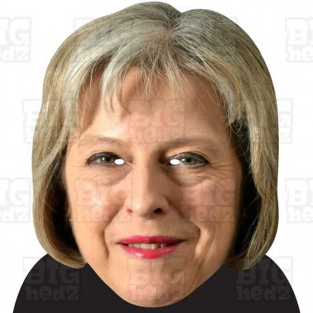 THERESA MAY : BIG A3 Size Card Face Mask