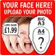 Life-size Personalised Masks