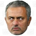 JOSE MOURINHO : Life-size Card Face Mask