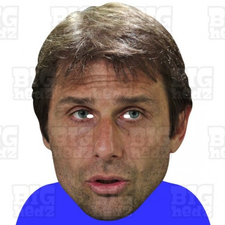 ANTONIO CONTE : BIG A3 Size Card Face Mask