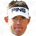 LEE WESTWOOD : Life-size Card Face Mask - 2016 European Ryder Cup Team