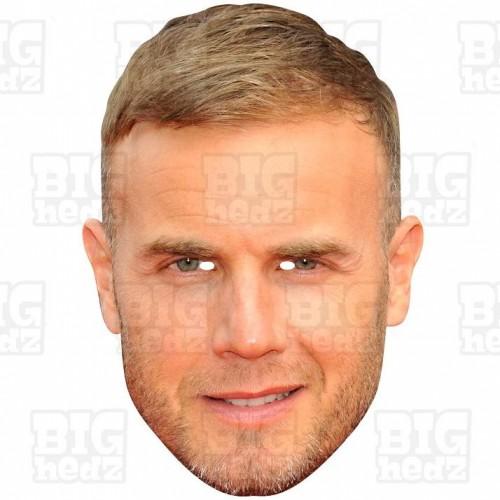 GARY BARLOW : Life-size Face Mask